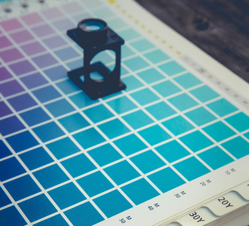 Color Swatch and Loupe